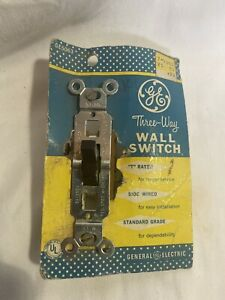GE Three-Way Wall Switch Vintage NOS