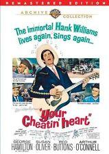 YOUR CHEATIN HEART (1964 George Hamilton)  Region Free DVD - Sealed