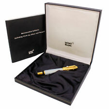 MontBlanc Boheme Lacquer With Akoya Pearl RollerBall Pen Box & Polishing Cloth