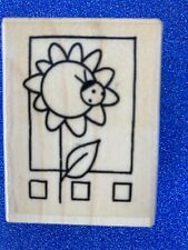 NEW Stampendous 'Sunny Window' Rubber Stamp 🇬🇧 seller / free UK returns