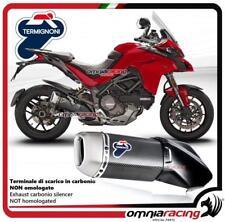 Termignoni Auspuff Kohlefaser genehmigt Ducati Multistrada 1260 2018>