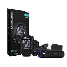 COMPUSTAR PRO-T11 2-Way Alarm Remote Start 3-Mile Range FT7000AS & RF-P2WT11SS