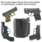Concealed Carry Ambidextrous Ankle Holster & 2 Mag Pouch Fit Ruger LC9 LCP Glock