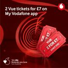 2 Vue Cinema Tickets 2 For £7 With Code