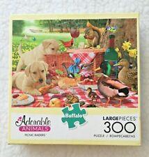 Buffalo Games Adorable Animals Picnic Raiders 300 pc Large Pieces Puzzle USA