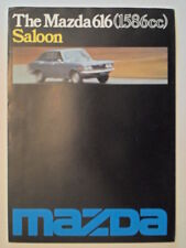 MAZDA 616 SALOON orig 1976 UK Mkt Sales Brochure