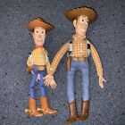 Disney Pixar Toy Story Sheriff Woody Doll NOT Working Pull String - 2 DOLLS INCL