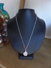 Labradorite Locket Sterling Silver Fine Necklaces & Pendants