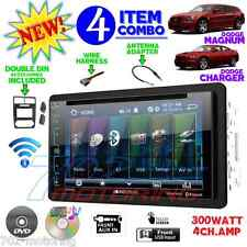 """05 06 07 DODGE MAGNUM CHARGER 6.2"""" TOUCHSCREEN CD DVD BLUETOOTH CAR RADIO STEREO"""