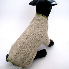 Hundepullover S schönes Design Zopf Pullover Hund Zopfmuster