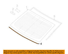 HYUNDAI OEM 16-18 Sonata Rear Window Glass-Inner Molding 87136C2000