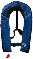 SALVS Automatic / Manual Inflatable Life Jacket for Adults | Navy Blue Life Vest