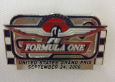2000 Formula-1 Indianapolis United States Grand Prix Track Event Lapel Pin IMS