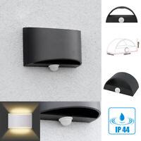 Rilevatore di Movimento Lampada Parete Da LED Sensore Pir Faretto Muro 7W IP44