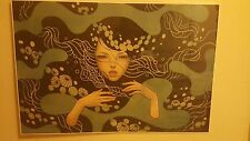 "AUDREY KAWASAKI DEEP WATERS GICLEE PRINT 30""X20"" XX/200 HAND NUMBERED & SIGNED"