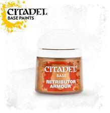 Citadel paints: Retributor Armour