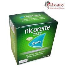 Nicorette Original Chewing Gum, 2 mg, 210 Pieces - FREE SHIPPING USA