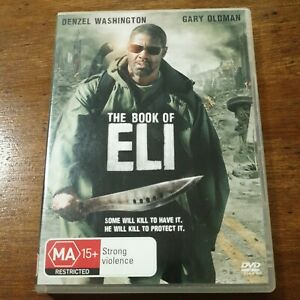 The Book of Eli DVD R4 Like New! FREE POST