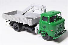 H0 IFA W 50 L Pritsche Ladekran IFA mobile DDR Langpritsche grün grau # 88888812