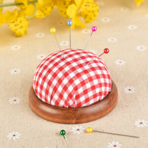 Bottom DIY Craft Pin Cushion Needle Pillow Needle Holder Sewing Accessories
