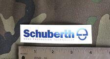 Schubert Head Protection Technology Sticker