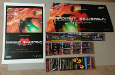 CAVE Radiant Silvergun Art for Sega Blast City ST-V Jamma SHMUP Treasure