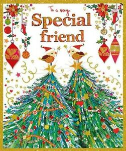 Very Special Friend -  Foiled Christmas Card
