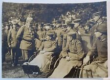 RARE Orig Photo LOT WWI German Soldier Hindenburg 1916 Ludendorff Kaiser Wilhelm