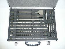 Makita SDS-Plus Bohrer- Meißelset SET D-19180 + Alu-Koffer Zubehör Bohrhammer