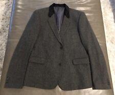 NWOT J. Johan Lindeberg Wool Tweed Hacking Riding Jacket Very Slim 52R 42R $895