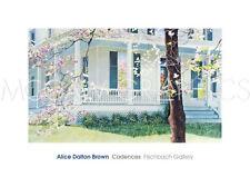 20X18 SMALL GLITTERING PORCH ALICE DALTON BROWN CANVAS