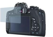 Canon EOS 750D (4x) PELLICOLA PROTETTIVA CC Protezione del display Salvaschermo