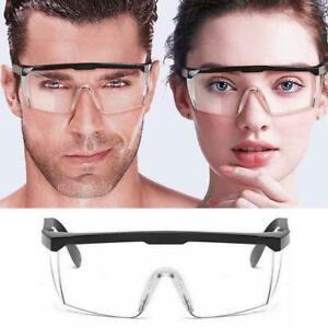 Safety Goggles Glasses Eye Protection Work Lab Anti Splash Fog Adjustable AU