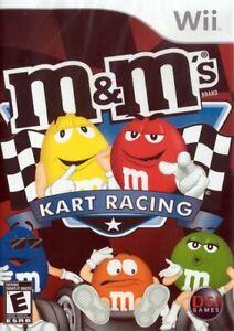 M&M's Kart Racing Wii Game