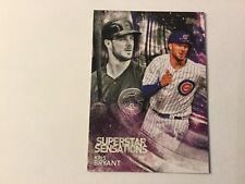 2018 Topps Series 1 Superstar Sensations Kris Bryant Chicago Cubs