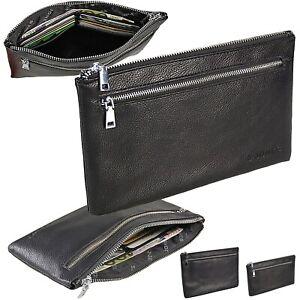 Banktasche Kunst-Leder Geldtasche Belegtasche Dokumententasche Fahrzeugtasche