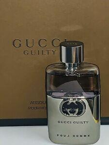 Gucci Guilty Pour Homme For Men Eau De Toilette Spray  50 ml / 1.6 oz New