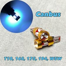 Canbus T10 27 LED Ice Blue Bulb Parking Light W5W 168 194 2825 W1 For Acura J
