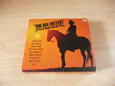 3 CD BOX the Big Country: Johnny Cash Dolly parton tammy wynette willie Nelson