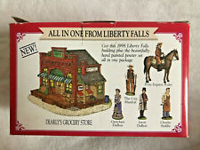 Liberty Falls Miniature Collection Dearly's Grocery Store People Ah154 Ah19C - P