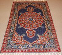 Oriental Persian Kashmir Handmade Wool Rug Carpet Runner,Home Decor 5x3