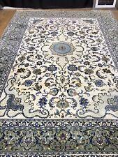 Wunderschöner Handgeknüpfter Orientteppich old rug 373x260cm Seide