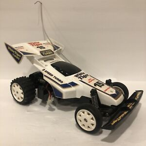 Vintage Radio Shack Buggy RC White Tiger Turbo 15 Japan No Remote or Battery