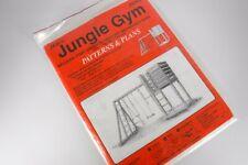 Jer's Patterns & Plans Jungle Gym Fort Sandbox Swing Monkey Bars J00310