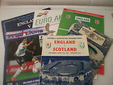 4 ENGLAND INTERNATIONALS, FREE LIONS MAG & BILLY WRIGHTS 100th CAP 1959