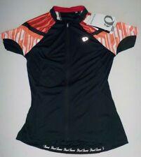 Pearl Izumi Cycling Jersey Sz M Women's Bike Top ELITE Black Coral Sport Top NWT