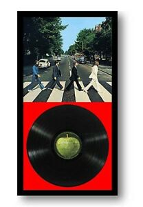"""LP DUO DISPLAY FRAME Fits 12"""" Record Cover and Vinyl (33 rpm) - BLACK"""