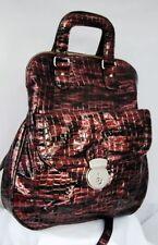 Marks and Spencer Zip Croc Print Handbags
