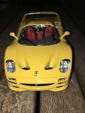 Ferrari F 50 (1995) Diecast Model in Scale 1:24 in Yellow Made in Italy by BBura