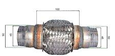 13/3165 TUBO FLESSIBILE RICAMBIO X MARMITTA SILENZIATORE UNIVERSALE D°45/50 L100
